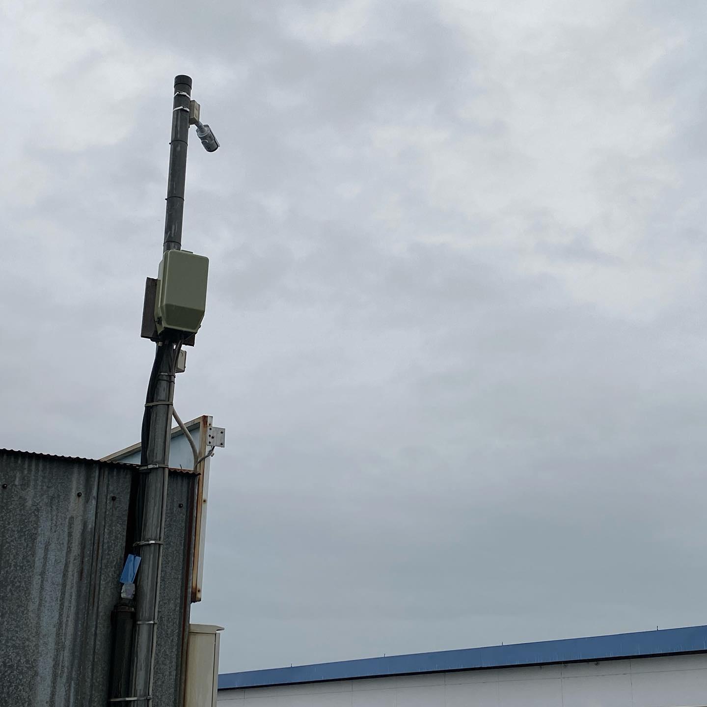 360度防犯カメラコイン洗車場